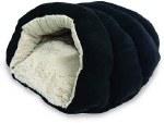 Cuddler Cave Bed Blk