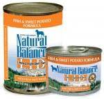 Natural Balance LID Fish & Sweet Potato Can