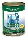 Natural Balance LID Lamb & Brown Rice Can