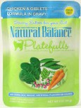 Natural balance POUCH CHIC GIBLETS