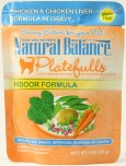 Natural balance POUCH INDOOR CHIC LIVER
