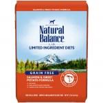 Nat Bal LID Salmon & Sw Pot 12