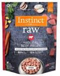 Instinct Dog Beef Bites 3#