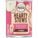 Nutro Hearty Stew Turkey Adult