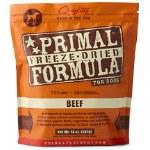 Primal Frz Dry Dog Beef 5.5Oz