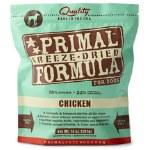 Primal Frz Dry Dog Chick 5.5Oz