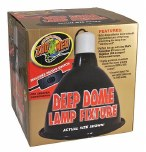 Repti Deep Dome Clamp Lamp