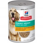 Sci Diet Perf Weight Dog Can