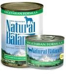 Natural Balance Vegetarian Can