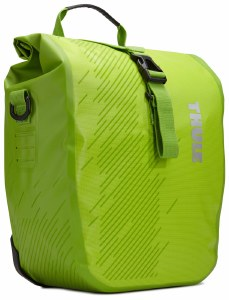 Pack 'n Pedal Small 14L Shield Pannier - Chartreuse 100067 Thule