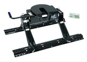 Pro Series 5th Wheel Hitch w/Universal Installation Kit and Rails