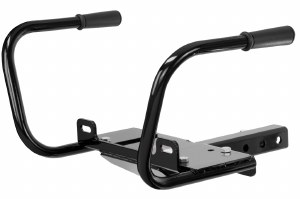 Hitch-Mounted Winch Mount with Handles
