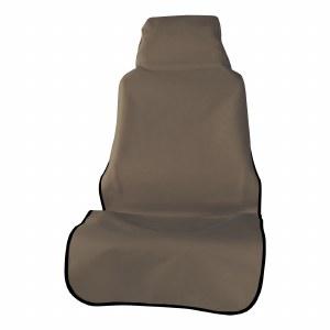 Seat Defender Bucket Seat Cover - Brown
