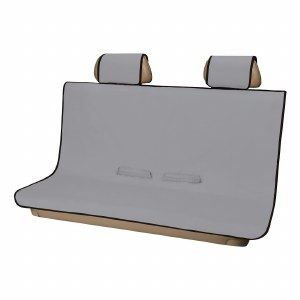Seat Defender Bench Seat Cover - Grey