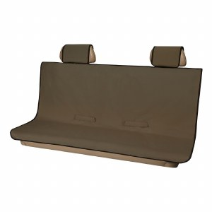 Seat Defender XL Bench Seat Cover - Brown