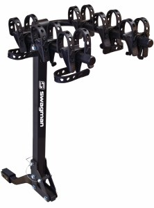 """Trailhead 3 Bike Carrier for 1-1/4"""" and 2"""" Hitches - Tilting 63365 Swagman"""