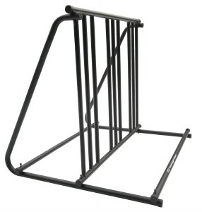 Indoor Outdoor Bicycle Parking Stand - Double Sided - Holds 6 Bikes 64016 Swagman