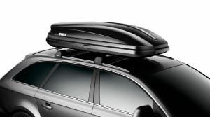 Pulse XL 16 Cubic Foot Black Roof Mounted Cargo Carrier 615 Thule