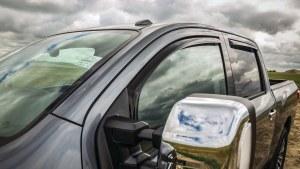 EGR Window Visors - Nissan Titan Crew Cab