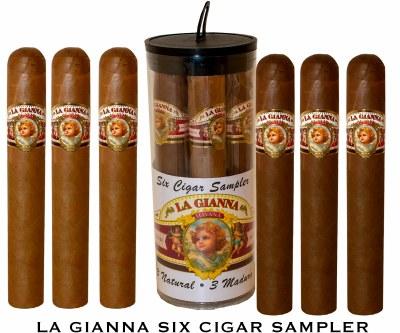 La Gianna 6 Cigar Sampler