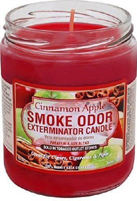 Smoke Exterm Candle Cinn Apple