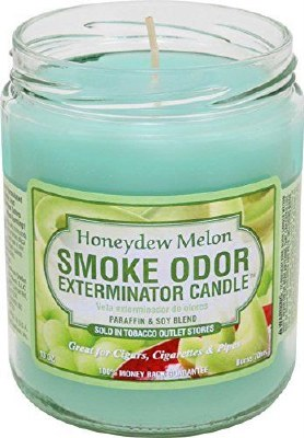 Smoke Exterm Candle Honeydew