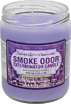 Smoke Exterm Candle Lavender