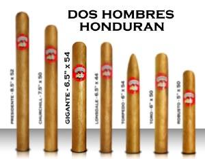 Dos Hombre Hon 6 1/2 x 54 S
