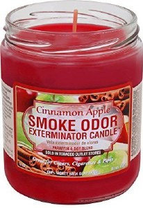 Smoke Exterm Candle Cinn Apple