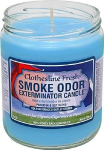Smoke Exterm Candle Clotheslin
