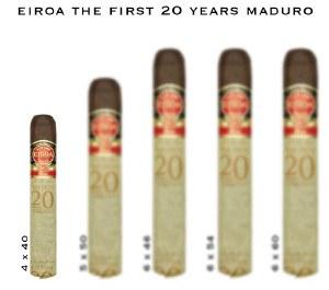 Eiroa First 20 40 x 4 S
