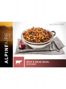 Rice & Beans Bowl w/Beef