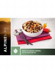 Rice & Beans Bowl w/Vegetables