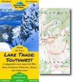 Tahoe SW Backcountry Ski Map