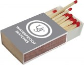 Waterproof Matches, 1 box