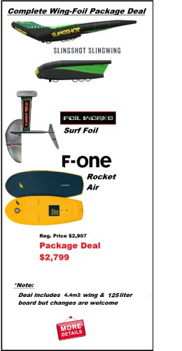Wing Foil Complete Package 2