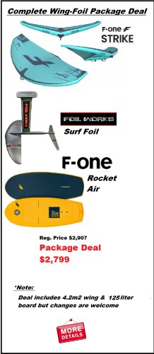Wing Foil Complete Package 1