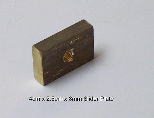 Mistral 8mm Mast Track Slider