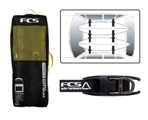 FCS Premium Soft Racks Double