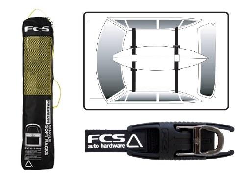 FCS Premium Soft Racks Single