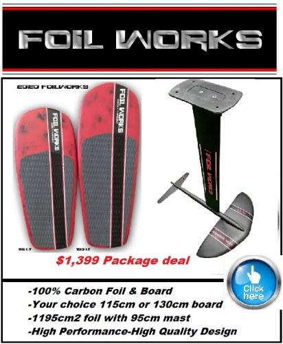 FoilWorks Foil & Board Pkg.
