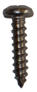 Footstrap screw - 12 short