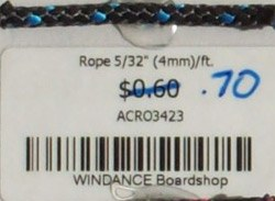 Rope 5/32 inch [4mm] FT