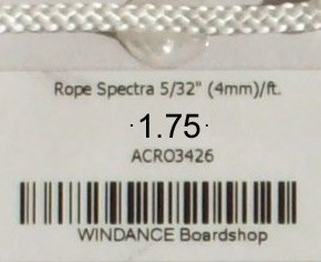 Rope Spectra 5/32 Inch [4mm]