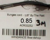 """Bungee cord - 1/8"""" [3mm]"""