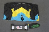 Ozone Land Kite and MTN. Board