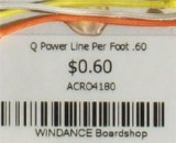 Q Power Line Per Foot