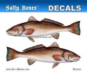 STICKER REDFISH MINI SALTY BON