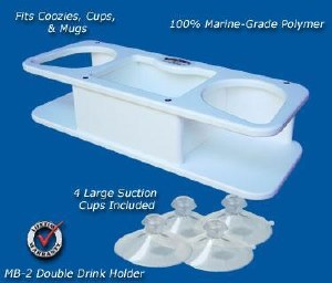 DEEP BLUE SINGLE CUP HLDR/STOR