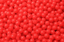 BEADS-SMALL RED